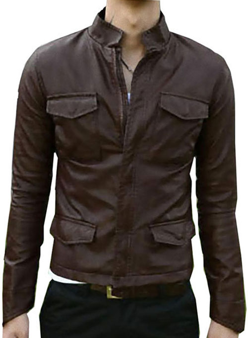 Leather Jacket #909