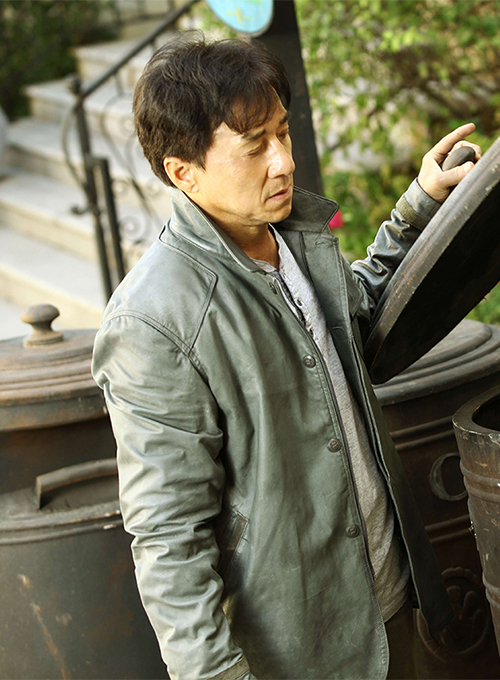 Jackie Chan Skiptrace Leather Jacket - Click Image to Close