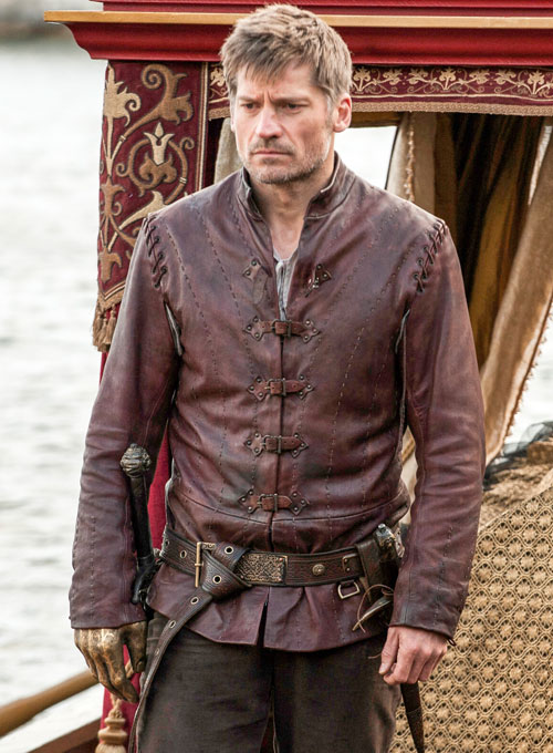 Jaime Lannister Game of Thrones Leather Jacket