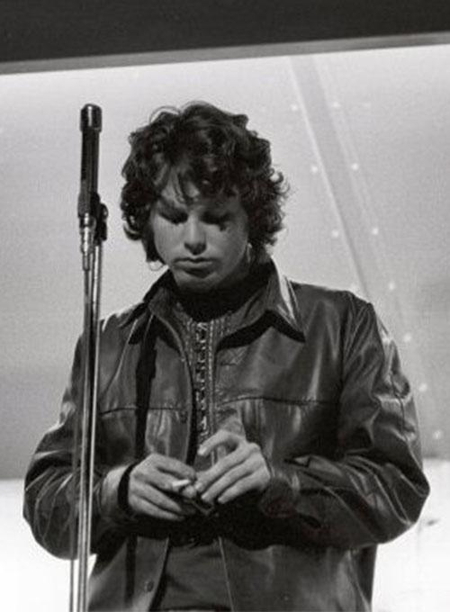 Jim Morrison Classic Leather Shirt Leathercult Com