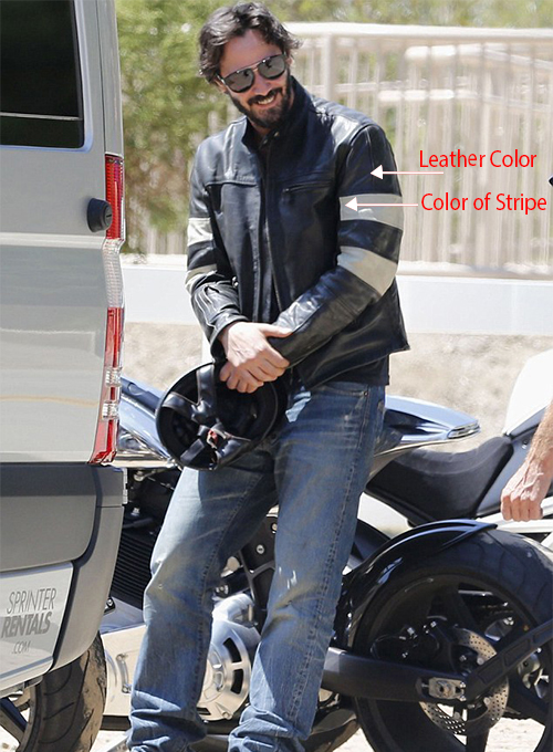 Keanu Reeves Leather Jacket - Click Image to Close