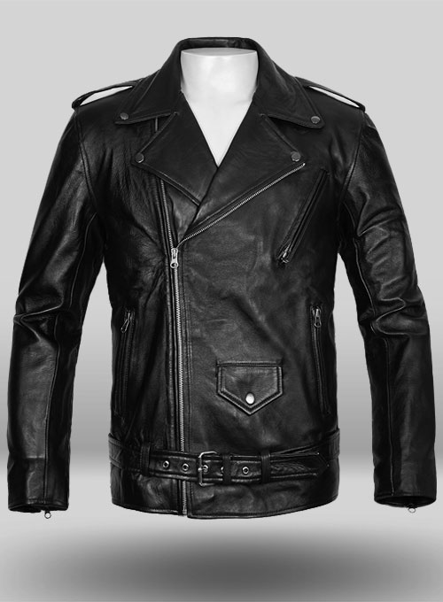 Pure Leather Biker Jacket #2