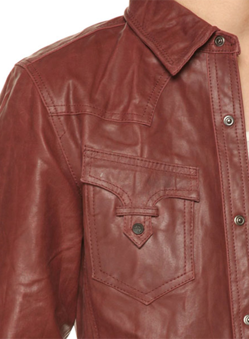 Leather Jacket #129