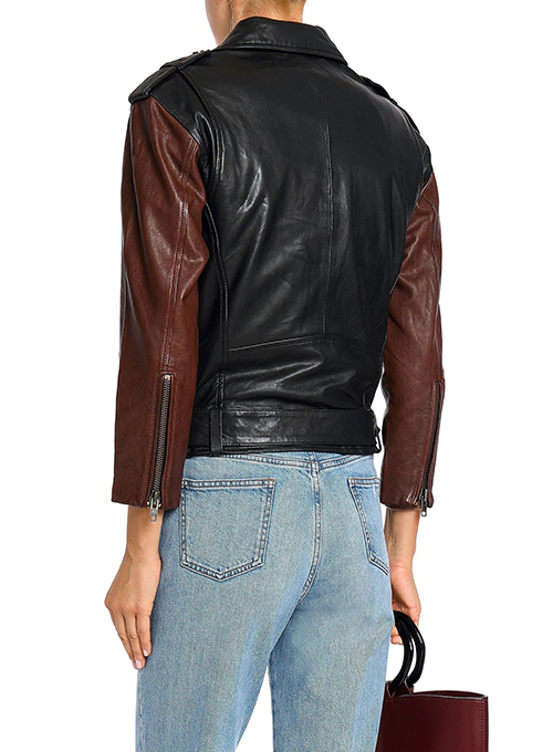 Leather Jacket # 2002 - Click Image to Close