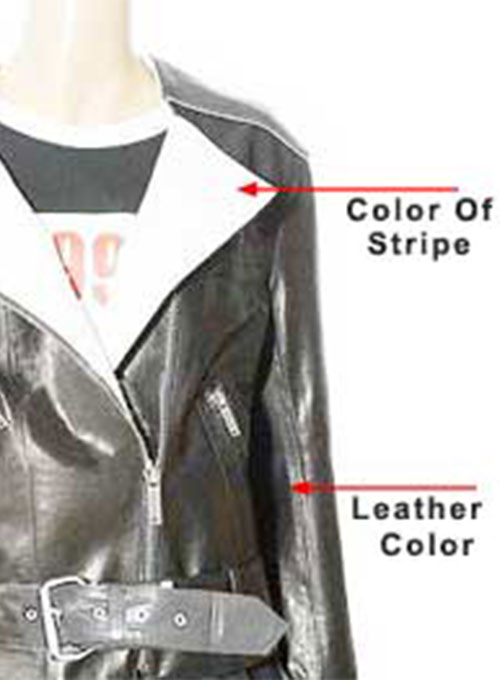 Leather Jacket # 257 - Click Image to Close