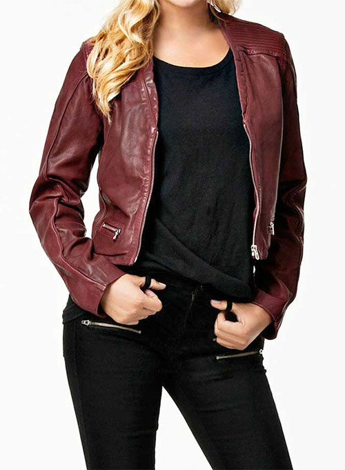 Leather Jacket # 287