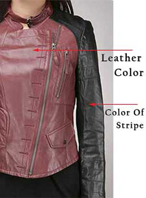 Leather Jacket # 290