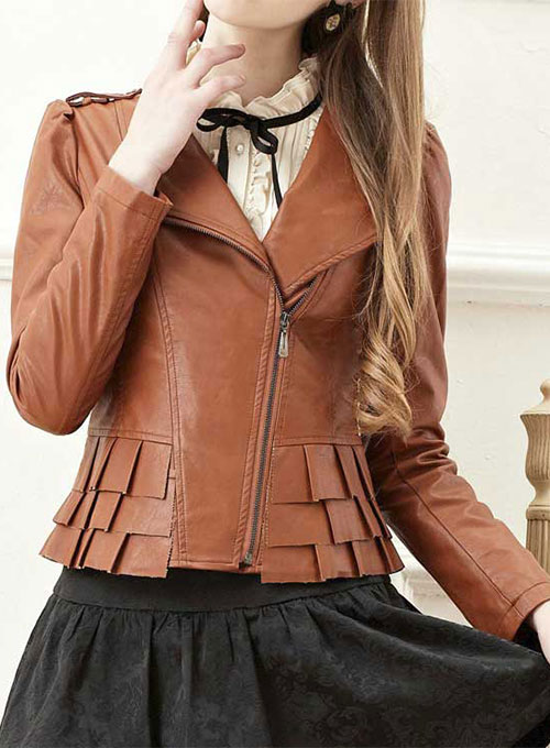 Leather Jacket # 295