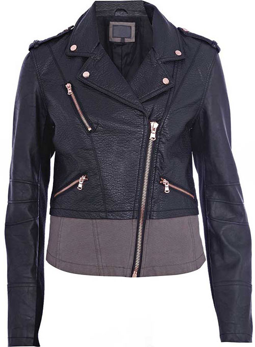 Leather Jacket # 296 - 35 Colors