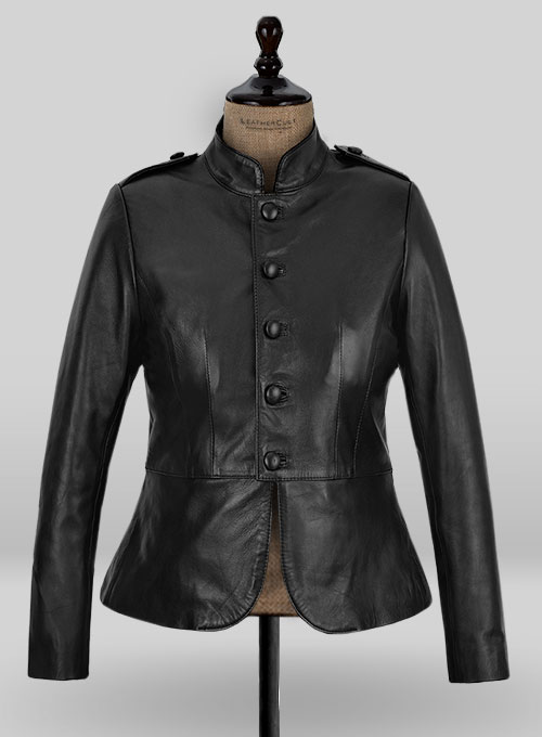 Leather Jacket # 297 - 50 Colors
