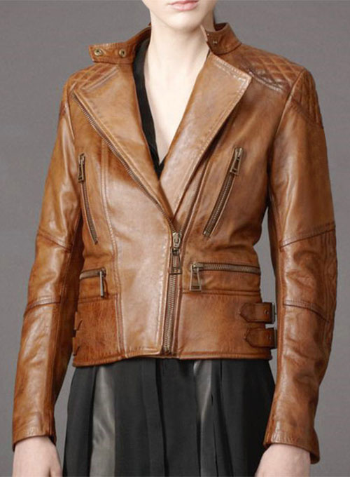 Leather Jacket # 516