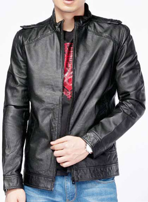 Leather Jacket # 617