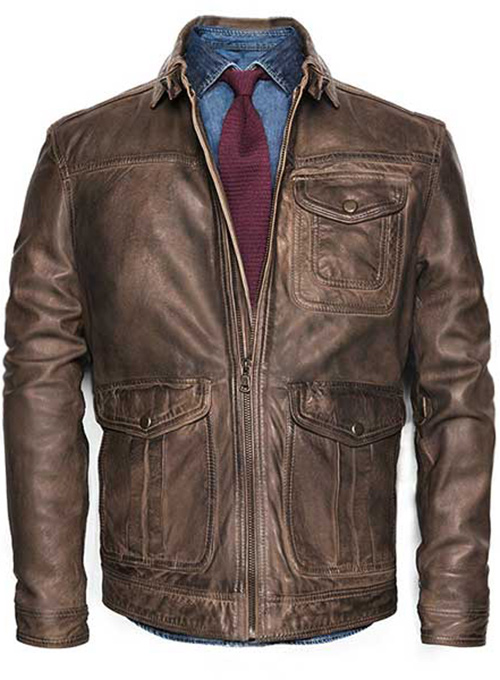Leather Jacket - # 632