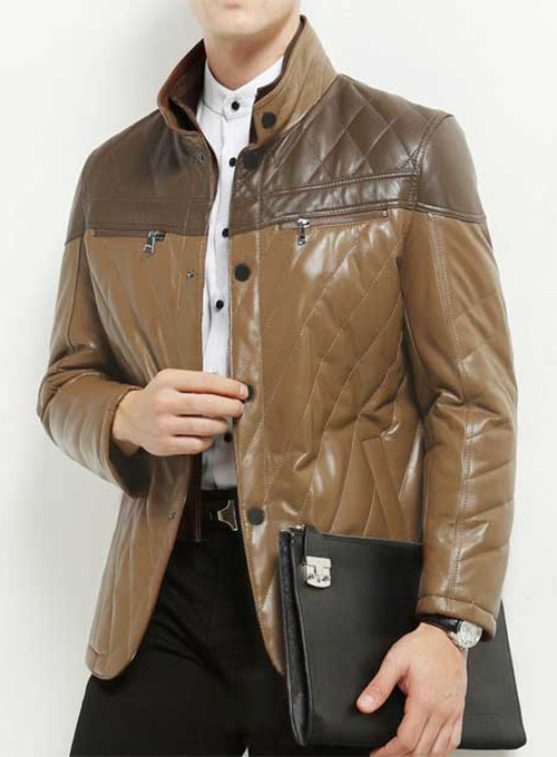 Leather Jacket # 635