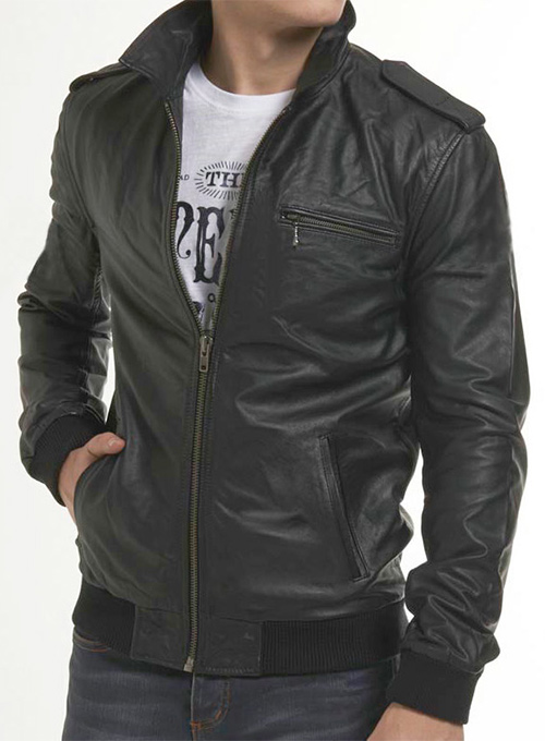 Leather Jacket # 639