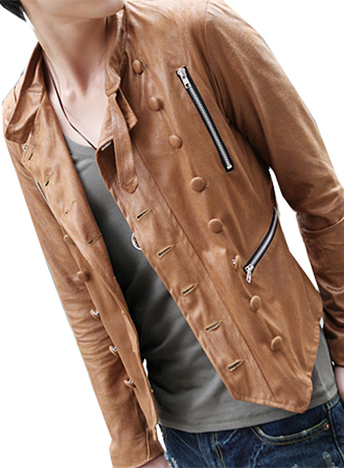 Military Leather Jacket