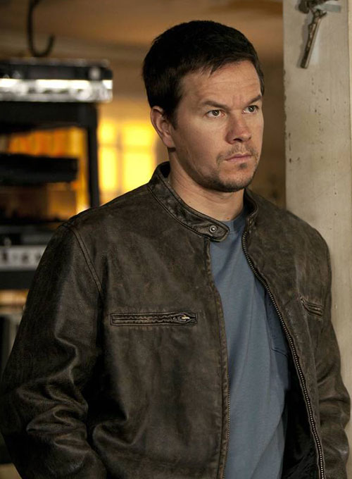 Mark Wahlberg Contraband Leather Jacket - Click Image to Close