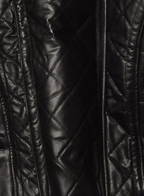 Leather Padding Jacket # 625