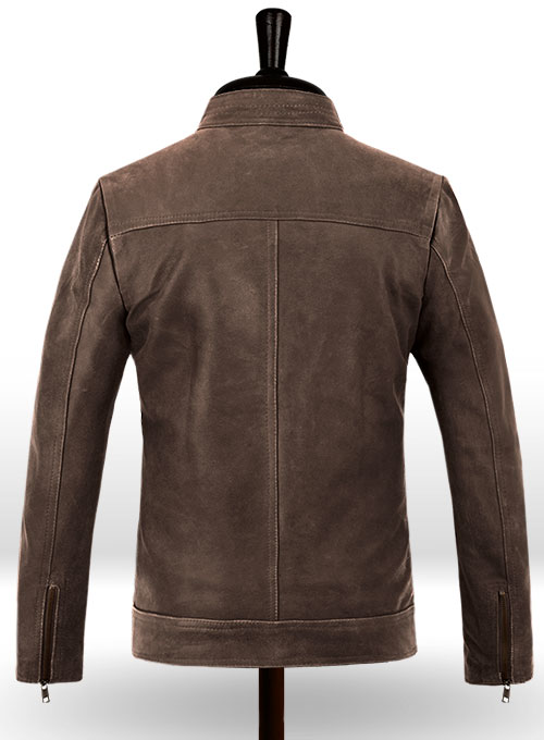 Rampage Dwayne Johnson Leather Jacket - Click Image to Close