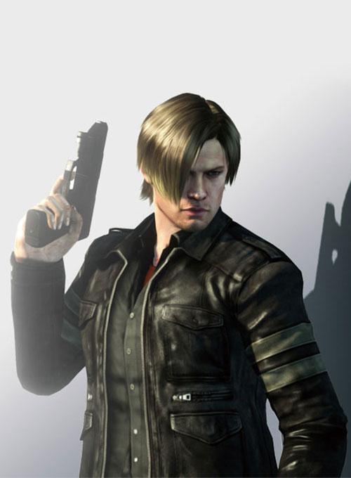 Resident Evil 6 Leon Kennedy Leather Jacket Leathercult