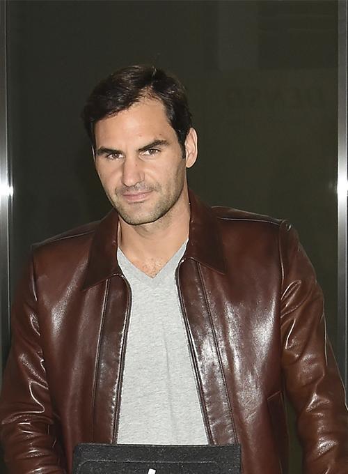 Roger Federer Leather Jacket 2 Leathercult Com Leather Jeans Jackets Suits