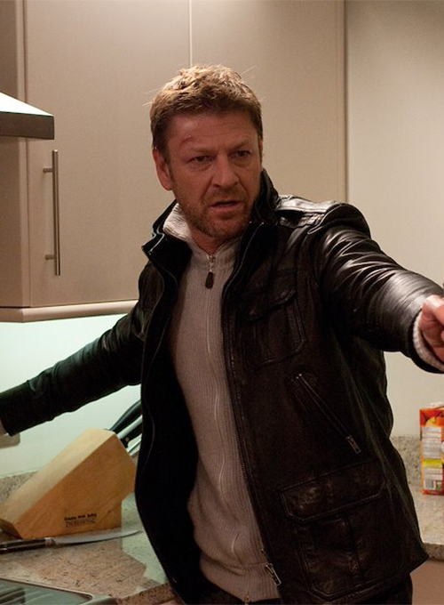 Sean Bean Cleanskin Leather Jacket - Click Image to Close