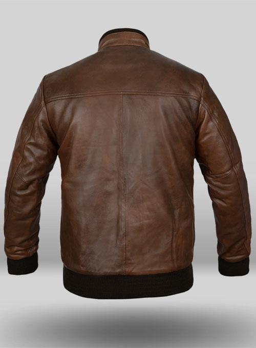 Spanish Brown Leather Jacket 94 Leathercult Com