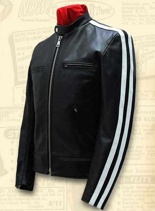 Stripped biker suit