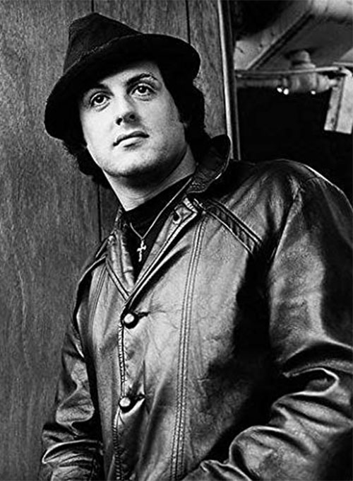 Sylvester Stallone Rocky 2 Leather Trench Coat ...