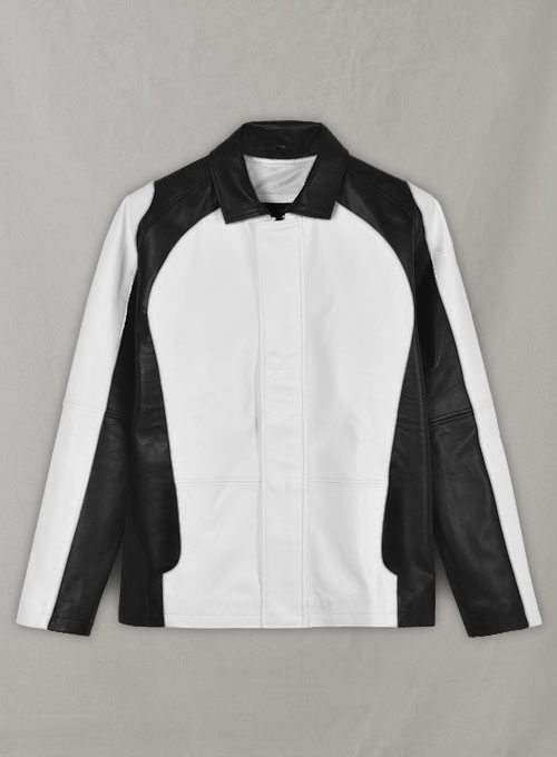 White inFamous Cole MacGrath Leather Jacket