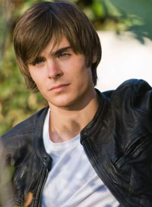 24b335642 Zac Efron 17 Again Leather Jacket : LeatherCult.com, Leather Jeans ...