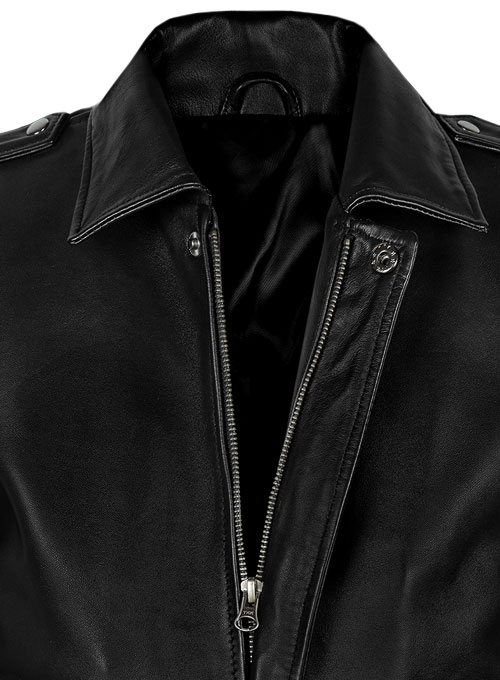 A2 Flight Bomber Leather Jacket - Click Image to Close