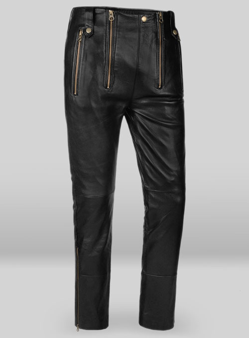 Anchor Leather Pants