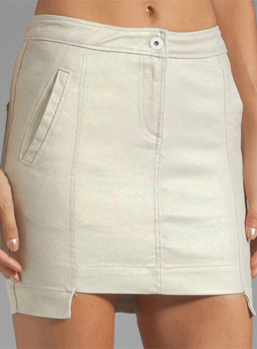 Bobi Leather Skirt - # 474
