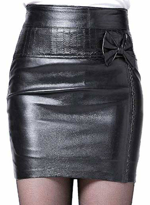 Buzz Leather Skirt - # 168 - 50 Colors