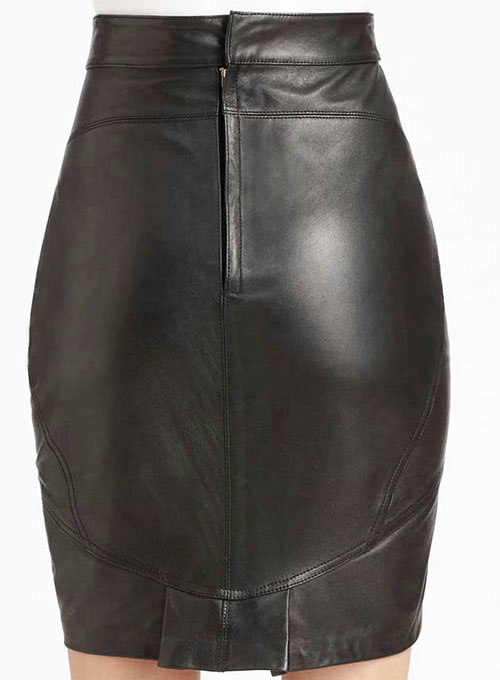 Canarie Leather Skirt - # 442