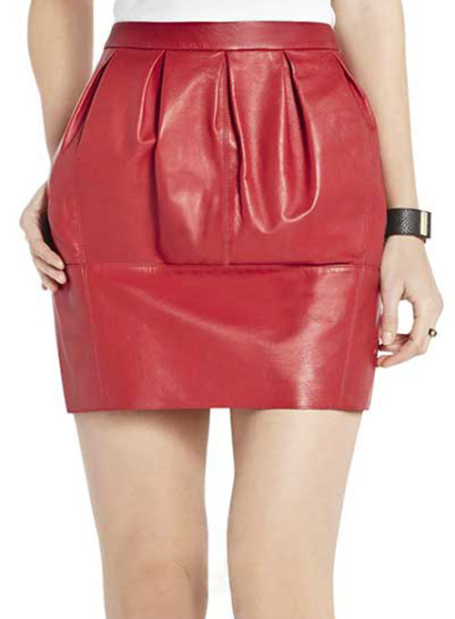 Candy Leather Skirt - # 189