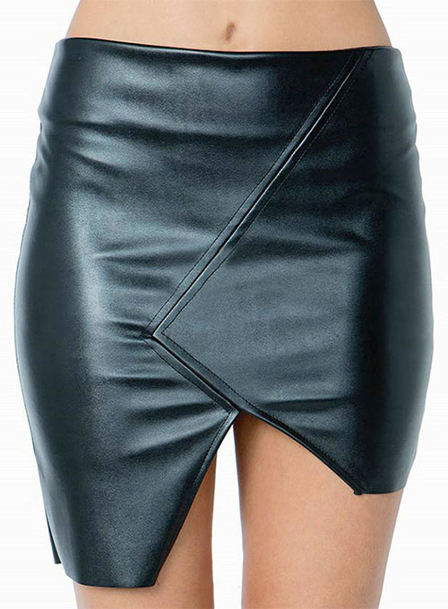 Chic Choc Leather Skirt - # 466