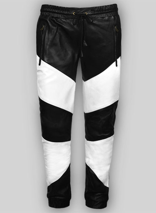 Coleman Drawstring Leather Pants
