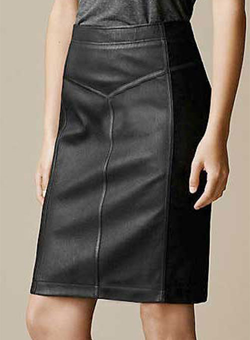 Etro Paneled Leather Skirt - # 416