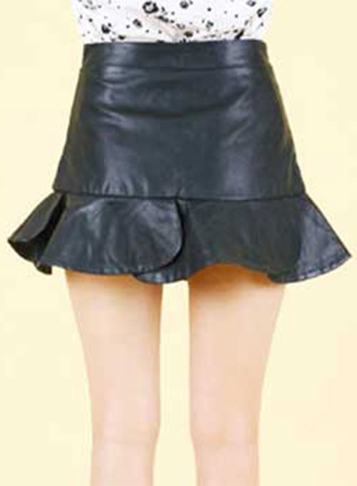 Flutter Leather Skirt - # 152