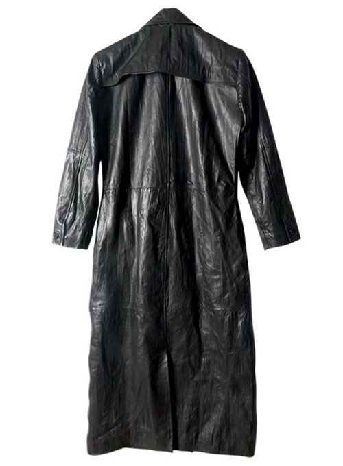 Gambit Leather Trench Coat