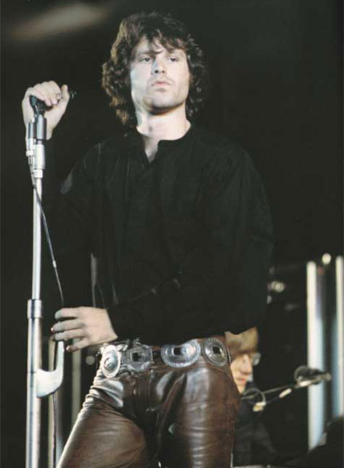 Jim Morrison Leather Pants
