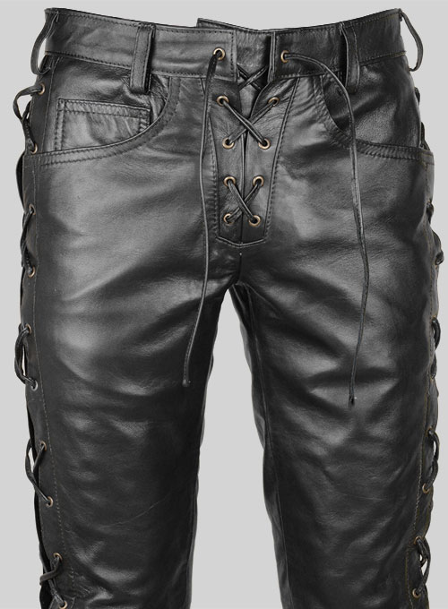 Laced Leather Pants Style 515 Leathercult Com