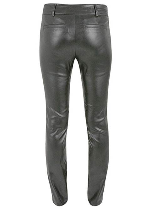 Leather Biker Jeans - Style #504 - Click Image to Close
