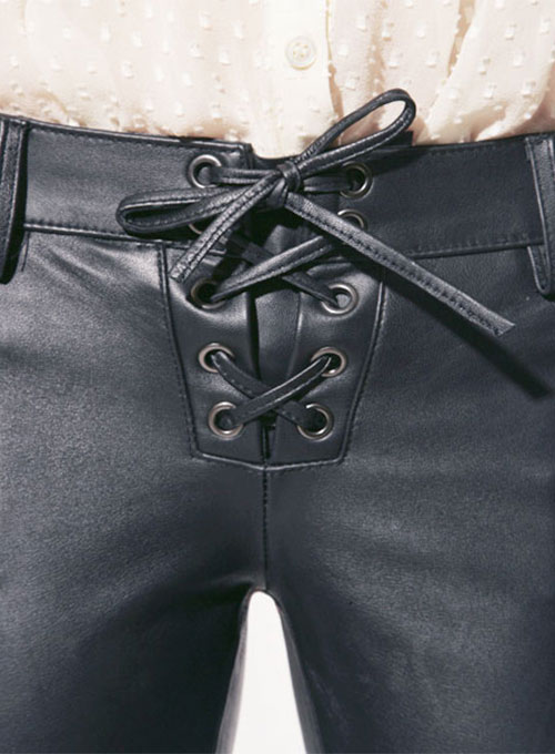 Leather Biker Jeans - Style #506 - Click Image to Close