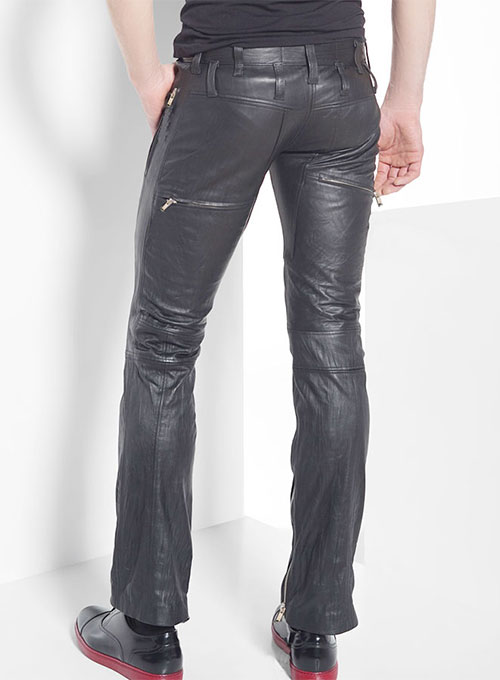 Leather Biker Jeans - Style #507 - Click Image to Close