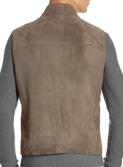 Leather Vest # 329 - Click Image to Close