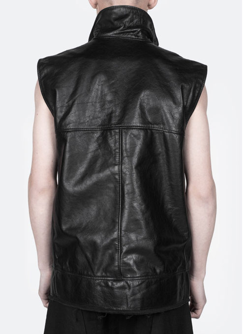 Leather Vest # 346 - Click Image to Close