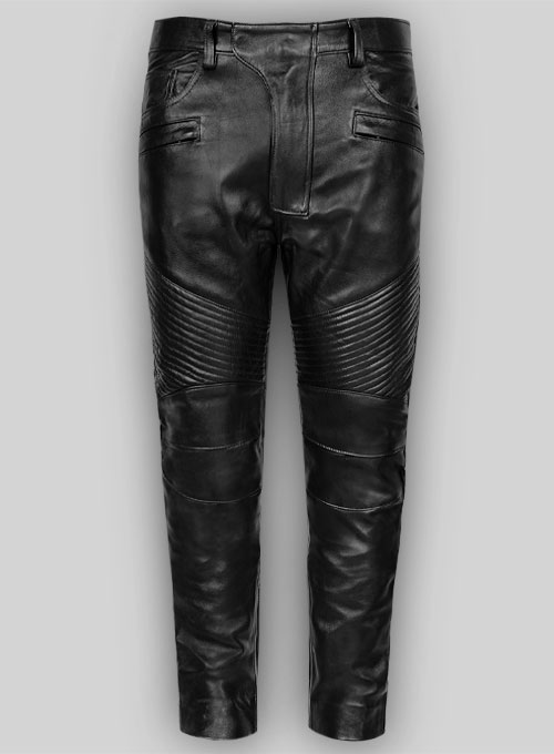 Leather Biker Jeans - Style #555